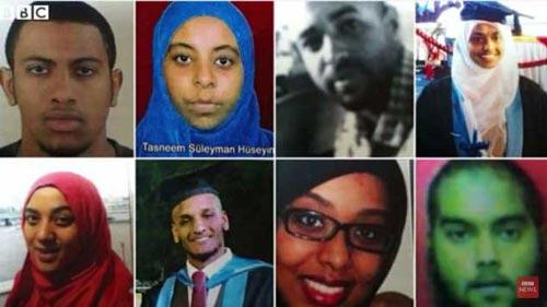 Gương mặt các sinh viên y khoa người Anh được cho là đã gia nhập IS Ảnh: BBC NEWS