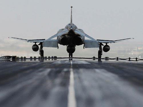 Một chiếc F-4 Fantom của không quân Thổ Nhĩ Kỳ tại căn cứ không quân Incirlik. Ảnh: KHÔNG QUÂN MỸ
