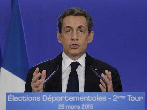 Ông Nicolas Sarkozy Ảnh: REUTERS