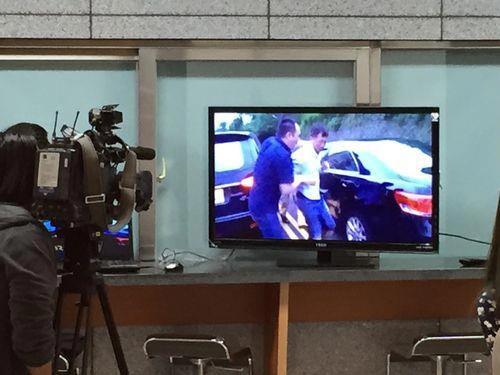 Nghi phạm trộm xe họ Lâm bị bắt ngày 20-4 Ảnh: CNA