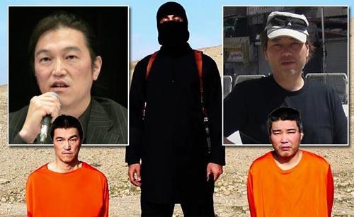 Hai con tin Nhật: Kenji Goto (trái) và Haruna Yukawa Ảnh: NY DAILY NEWS
