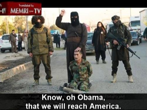 Phiến quân IS dọa giết Tổng thống Mỹ Barack Obama ngay trong Nhà Trắng Ảnh: FOX NEWS