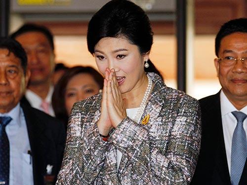 Cựu Thủ tướng Thái Lan Yingluck Shinawatra Ảnh: REUTERS