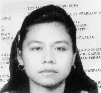 Siti Zainab bị xử tử hôm 14-4 Ảnh: AMNESTY
