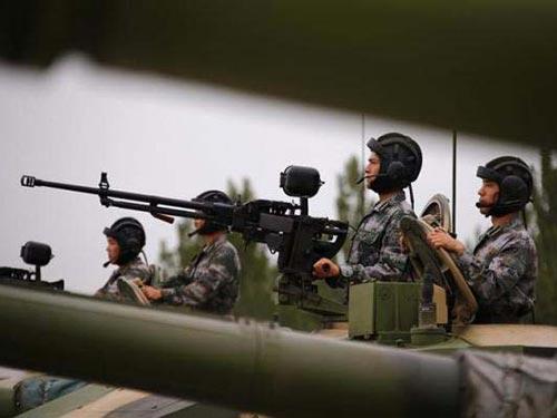 Quân đội Giải phóng nhân dân Trung Quốc trong một cuộc tập trận Ảnh: REUTERS