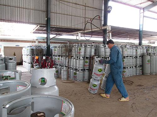 Giá gas Saigon Petro đang ở mức dưới 300.000 đồng/bình 12 kg