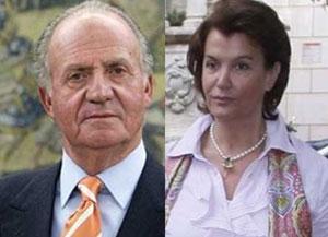 Cựu vương Juan Carlos và bà Ingrid Sartiau  Ảnh: diariocritico.com