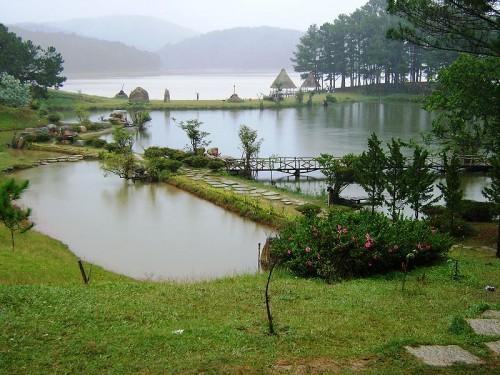Hồ Tuyền Lâm, Đà Lạt. Ảnh: Wikipedia