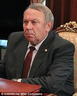 Giám đốc Học viện khoa học Nga (RAS) Vladimir Fortov. Ảnh: Kremlin.ru