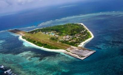 Đảo Thị Tứ. Ảnh: InterAksyon