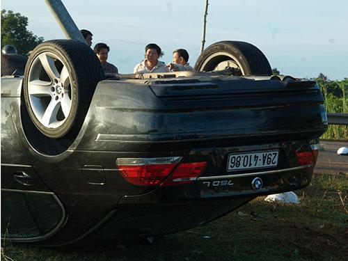 Chiếc xe gây tai nạn với biển số giả