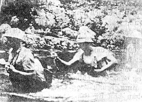 Đoàn cán bộ An ninh Bà Rịa - Long Khánh. Ảnh tư liệu