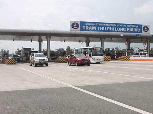 Tại Trạm thu phí Long Phước, cân được bố trí tại làn số 1 hướng từ TP HCM  đi Dầu Giây