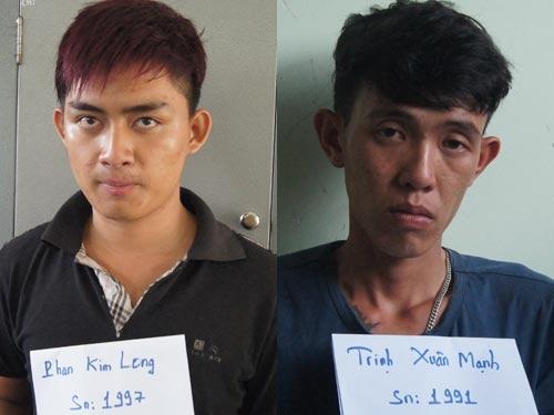 4 tên trong băng trộm cắp vừa bị công an tỉnh Bình Dương bắt