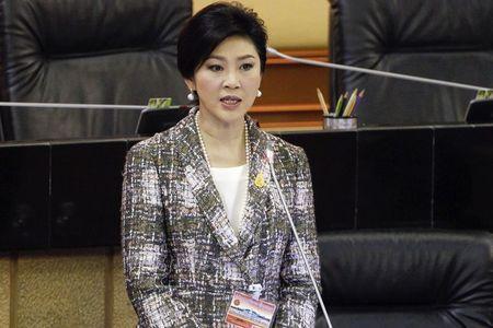 Cựu thủ tướng Yingluck bị cấm ra nước ngoài. Ảnh: Reuters