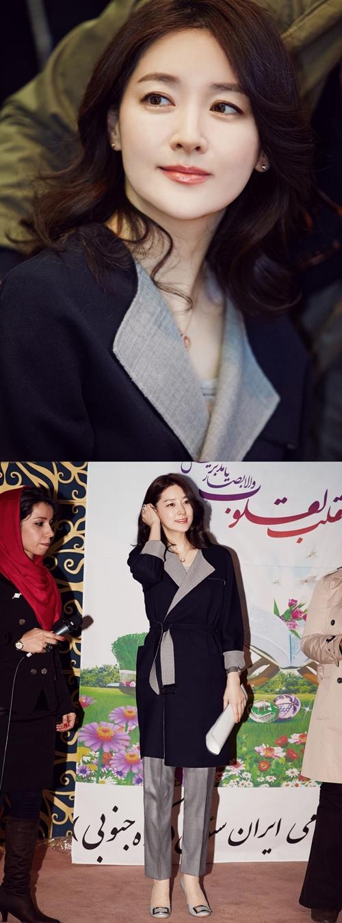 Cô đến tham dự tiệc mừng năm mới của người Iran
