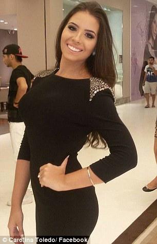 Hoa hậu Caroline Toledo