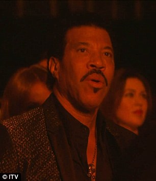 Lionel Richie kinh ngạc