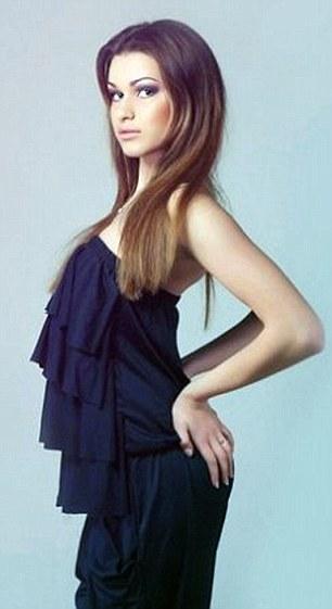 Người mẫu 23 tuổi này hiện đang là nhân chứng của vụ ám sát. Ảnh: Daily Mail
