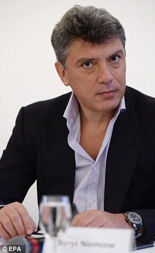 Boris Nemtsov. Ảnh: EPA