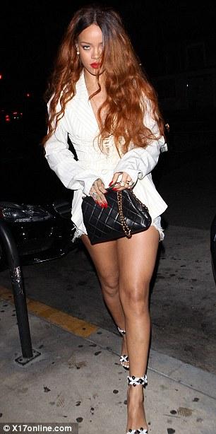 Nữ ca sĩ Rihanna