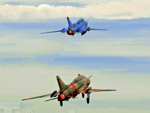 Máy bay SU-22 cùng loại với máy bay bị rơi. Ảnh minh hoạ