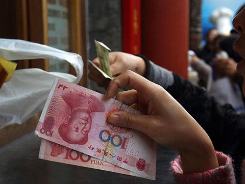 Trung Quốc đang tăng cường nỗ lực quốc tế hóa đồng nhân dân tệ Ảnh: Bloomberg