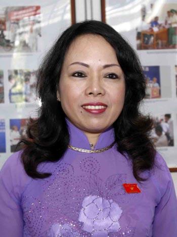 GS-TS Nguyễn Thị Kim Tiến, Bộ trưởng Bộ Y tế