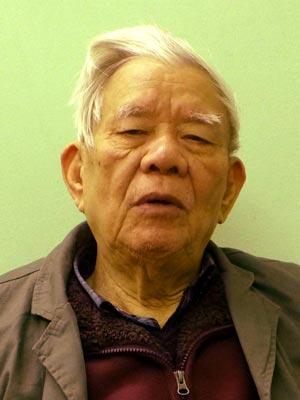 Ông Nguyễn Đình Hương, nguyên Phó trưởng Ban Tổ chức Trung ương, nguyên Trưởng Ban Bảo vệ chính trị nội bộ trung ương