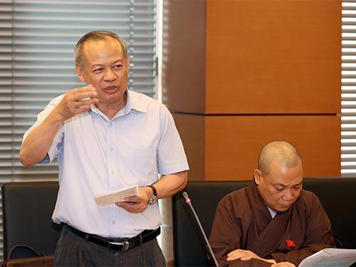 TS Đinh Xuân Thảo cho rằng nên tách bạch giữa mức độ vi phạm hành chính, dân sự với hình sự Ảnh: BẢO TRÂN