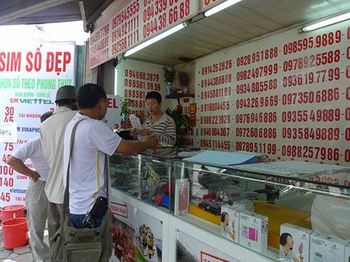 Toàn bộ thuê bao di động của Việt Nam sắp tới chỉ còn 10 số Ảnh: THẾ DŨNG