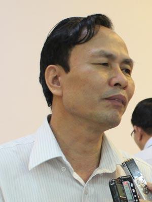 Phó Cục trưởng Cục Chống tham nhũng - Thanh tra Chính phủ Phí Ngọc Tuyển