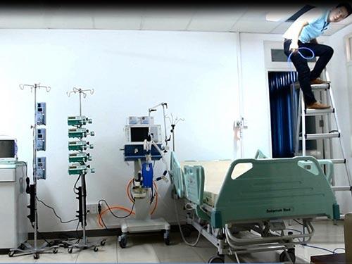 Căn phòng điều trị ông Nguyễn Bá Thanh được chuẩn bị kỹ càng từ những ngày trướcẢnh: QUANG VINH