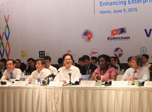 Thủ tướng Nguyễn Tấn Dũng lạc quan về nền kinh tế Việt Nam trong thời gian tới