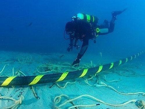 Ngày 5-1, hệ thống cáp quang biển quốc tế AAG lại xảy ra sự cố. (Ảnh do FPT cung cấp)