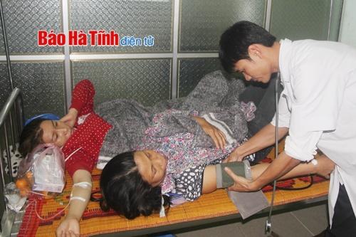 Ngộ độc thực phẩm, 23 công nhân Formosa phải nhập viện