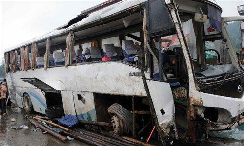 Vụ tai nạn khiến 8 người chết, hơn 40 người bị thương