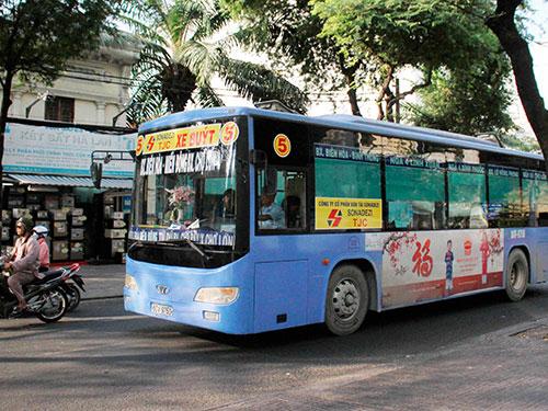 Quảng cáo trên xe buýt có thể mang về hàng trăm tỉ đồng mỗi năm cho TP HCMẢnh: HOÀNG TRIỀU