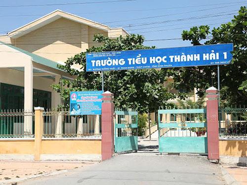 Trường Tiểu học Thành Hải 1 - nơi N. bị kẻ lạ mặt cưỡng hiếp