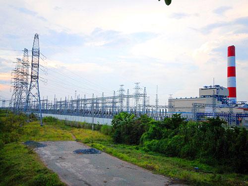 Nhà máy Nhiệt điện Ô Môn dùng cả khí và than để phát điện Ảnh: NGỌC TRINH
