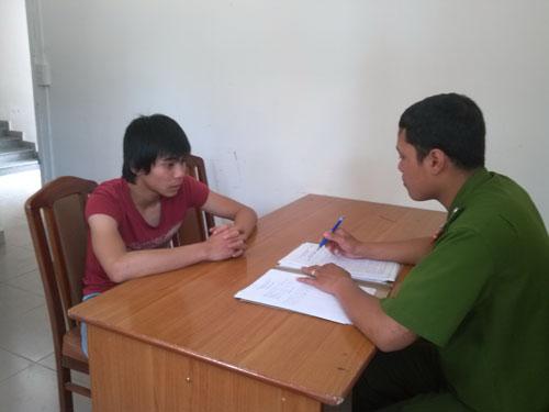 Phạm Vũ Thịnh khai báo với cơ quan công an