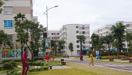Khu nhà ở xã hội Đặng Xá (Gia Lâm, Hà Nội).