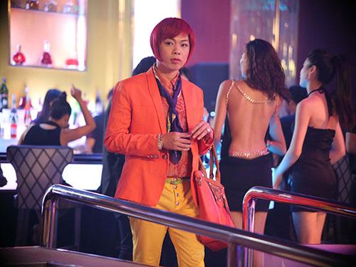 Diễn viên Thái Hòa trong Để Mai tính 2 - bộ phim được cho là hài nhảm nhưng đạt kỷ lục doanh thu. (Ảnh do đoàn phim cung cấp)