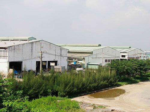 Công ty CP Thuộc da Hào Dương Ảnh: Hoàng Triều