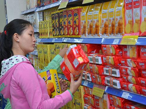 Tại Saigon Co.op, hàng hóa dịp Tết tăng gấp 2-3 lần so với bình thường Ảnh: TẤN THẠNH