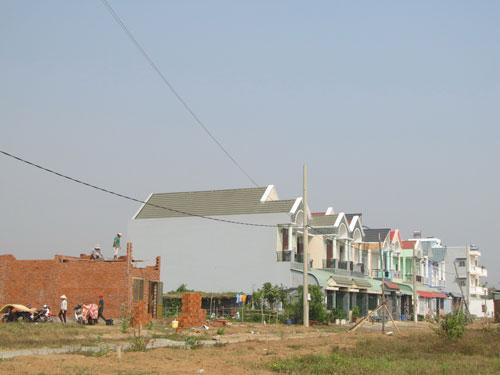 Khu tái định cư Long Bửu, quận 9, TP HCM