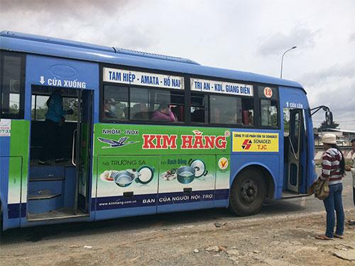 Việc quảng cáo trên xe buýt ở TP HCM còn gặp phải những ý kiến trái chiều