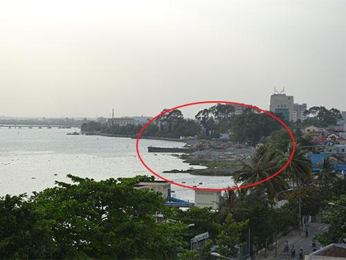 Dự án lấp sông Đồng Nai với 7,7 ha mặt nước gây nhiều quan ngại Ảnh: XUÂN HOÀNG