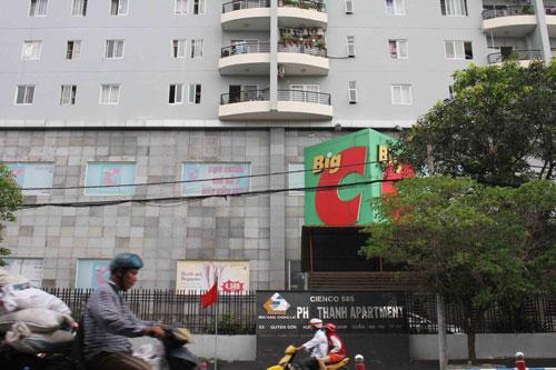 Chung cư 585 Phú Thạnh (quận Tân Phú, TP HCM)Ảnh: HOÀNG TRIỀU