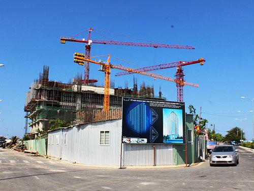 Công trình Mường Thanh Khánh Hòa đã xây được 6 tầng